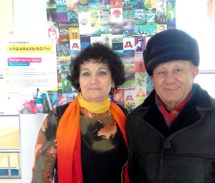 Активные избиратели с удовольствием позировали в фотозоне «Айда на выборы»