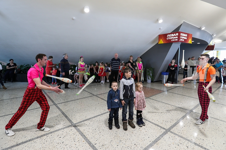 Открытие Казанского цирка после реконструкции