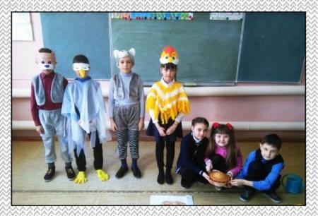 Артисты школьного театра заговорили на английском