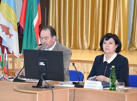 Отчетная сессия в Егорьевском сельском поселении