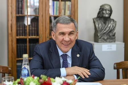 Президент Татарстана поддержал идею возрождения премии имени Горького