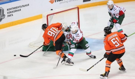 Хоккей. «Ак Барс» крупно уступил «Амуру» в Хабаровске