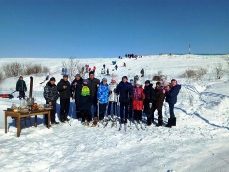 В Лаишевском районе проводили зиму