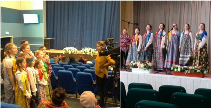 Габишевские ребята участвовали в фольклорном фестивале