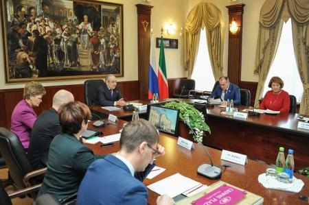 Минтимер Шаймиев: Пора принимать решения по вопросам дизайна интерьеров гостиницы «Кул Гали»