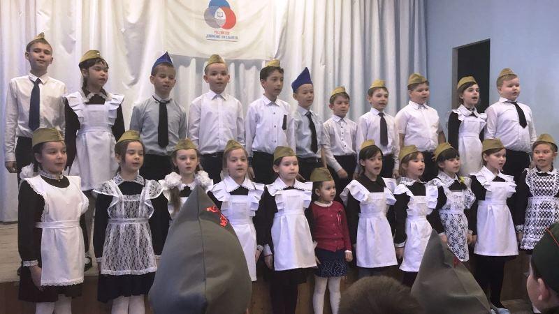 В Лаишевской школе №2 прошел конкурс патриотической песни