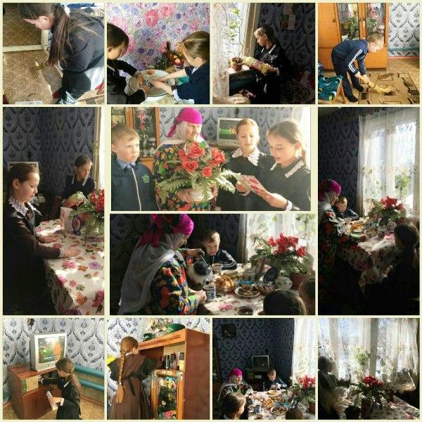 Как школьники Лаишевского района оказывают помощь ветеранам
