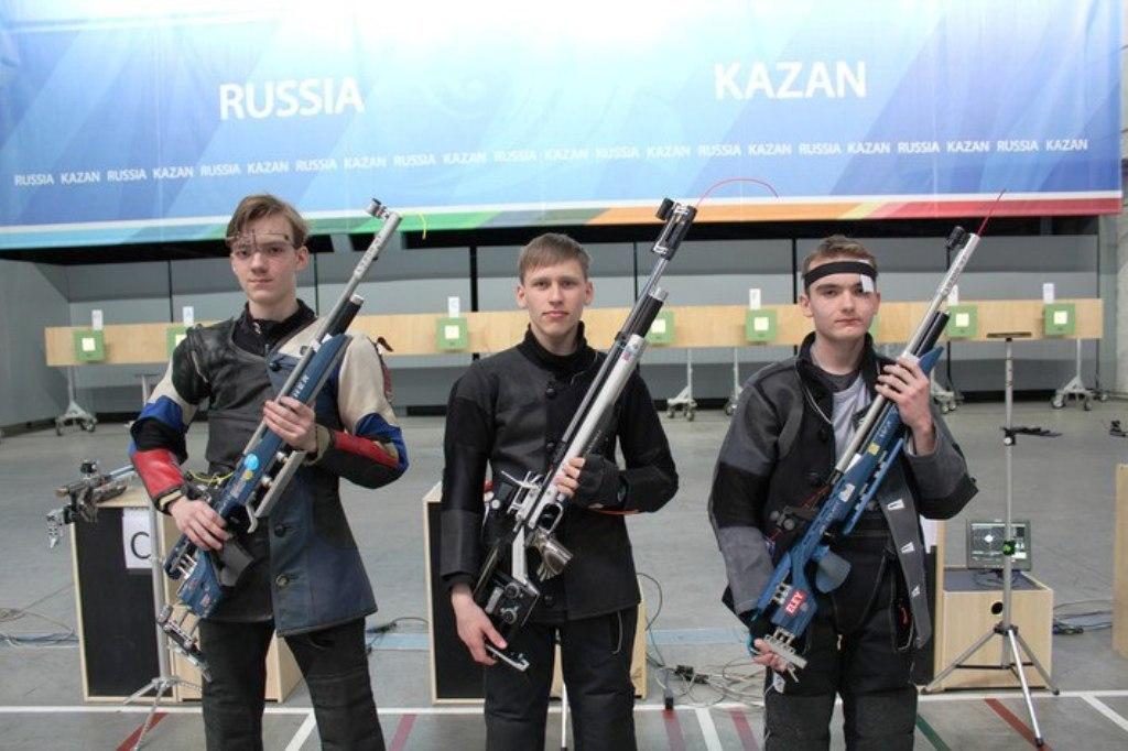Лучший стрелок России живет в Столбище