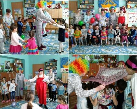 Праздник смеха в Атабаево