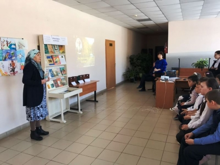 Атабаевские школьники прикоснулись к наследию Льва Толстого