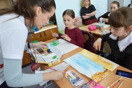 Юные художники из Лаишевского района рисуют для студии «Татармультфильм»