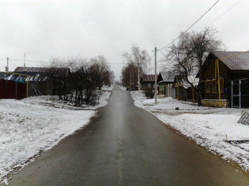 Лаишево накрыло снегом