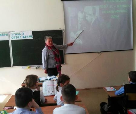 В школах Лаишевского района прошли мероприятия ко Дню космонавтики