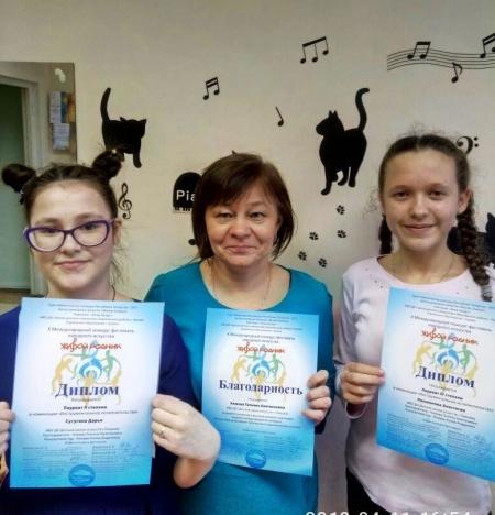 Ученики Лаишевской ДШИ – лауреаты Международного конкурса