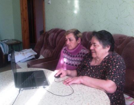 В Лаишевском районе пенсионерам помогают осваивать компьютер