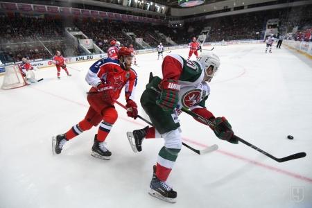 Хоккей. «Ак Барс» уступил ЦСКА в овертайме