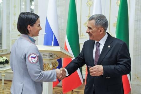 Призер Паралимпиады-2018 Марта Зайнуллина удостоена ордена «Дуслык»