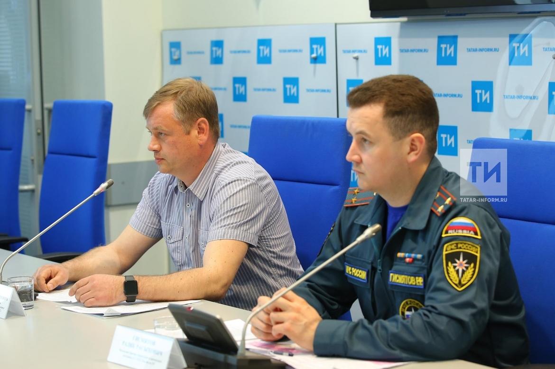 Пресс-конференция о паводковой обстановке в РТ