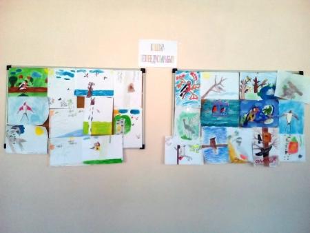 В Лаишевском районе дети знакомятся с птицами через рисунки
