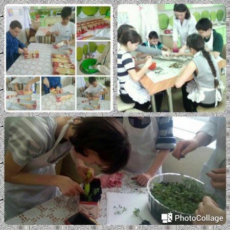 В Лаишевском реабилитационном центре проводится трудотерапия для детей