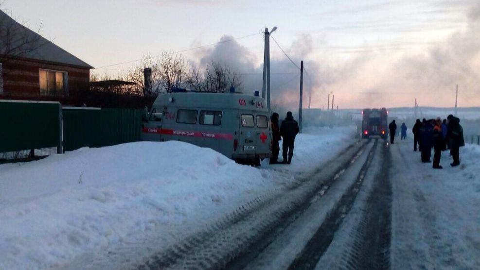 Пожар в жилом доме привел к гибели человека