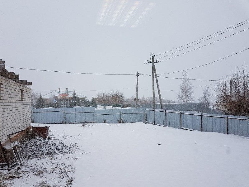 На Лаишево обрушился снегопад