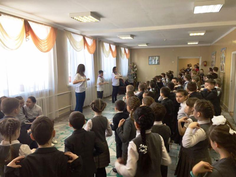 В Лаишевском районе уроки в школе начинаются с зарядки
