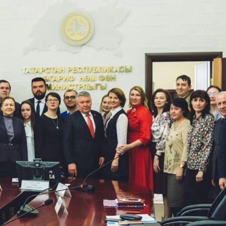 Министр образования и науки РТ обсудил с Советом регионального отделения РДШ планы на 2018 год