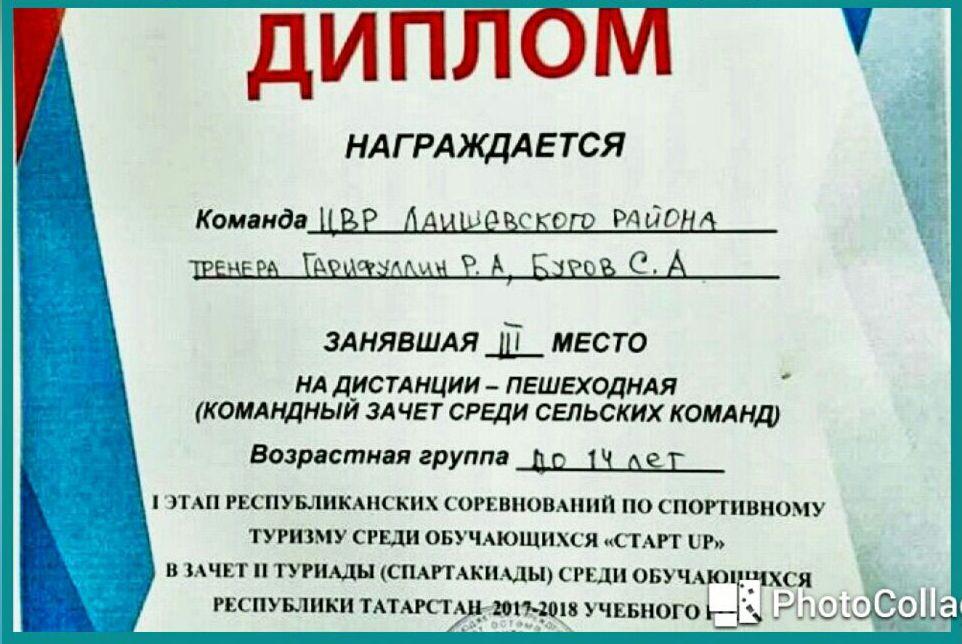 Ташкирменские девчонки – в тройке лидеров соревнований по спортивному туризму