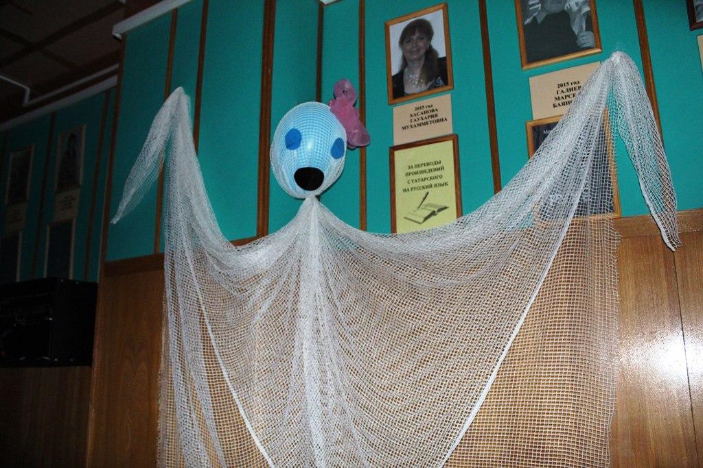 Около 10 привидений видели читатели в районной библиотеке в ночь с 20 на 21 апреля