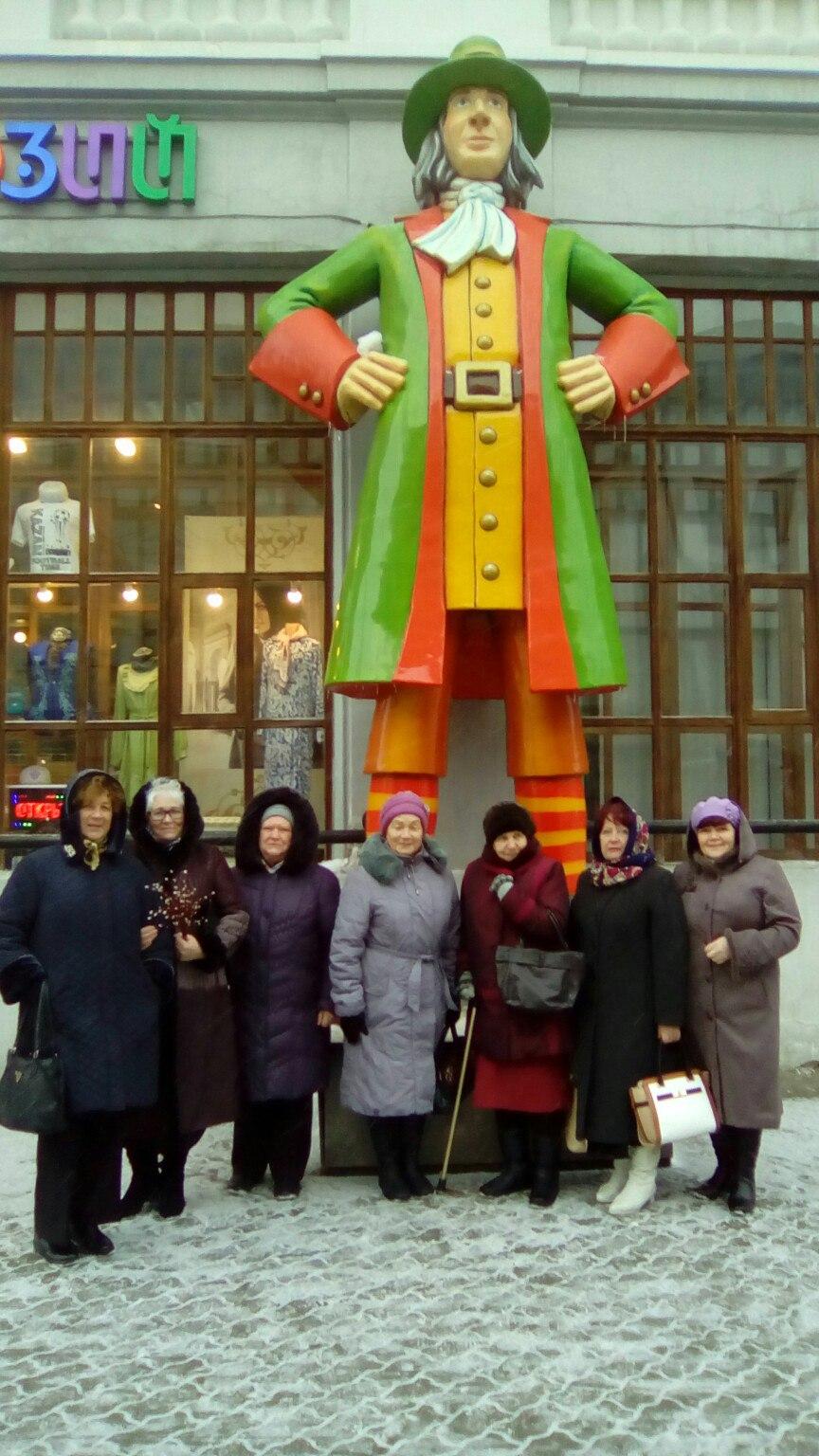 Лаишевские активисты серебряного возраста посетили мюзикл