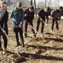 В учебных заведениях Лаишевского района проходят субботники. Часть 2