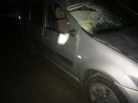 В выходные в одном ДТП погиб пешеход, а в другом камень пробил лобовое стекло