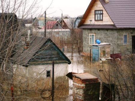 Что делать при резком подъеме уровня воды в период паводка