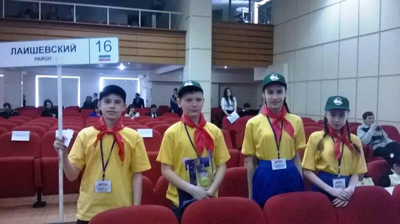 В праздновании юбилея ЮИД приняли участие ребята из Нармонки