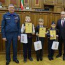 Почетной грамотой Российского союза спасателей награжден школьник из Среднего Девятова