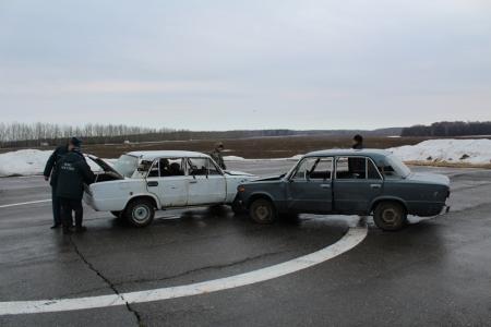 Учения экстренных служб Лаишевского района. Фотогалерея