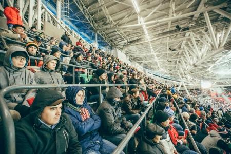 В Казани ограничат движение около «Казань Арены» в день тестового матча