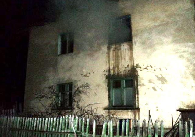 Два человека стали жертвами пожара