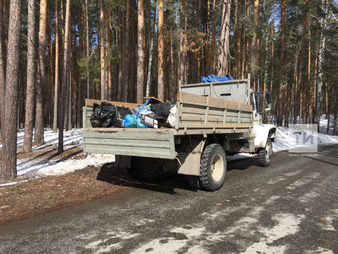 В лесах Татарстана проводятся рейды в рамках Санитарно-экологического двухмесячника