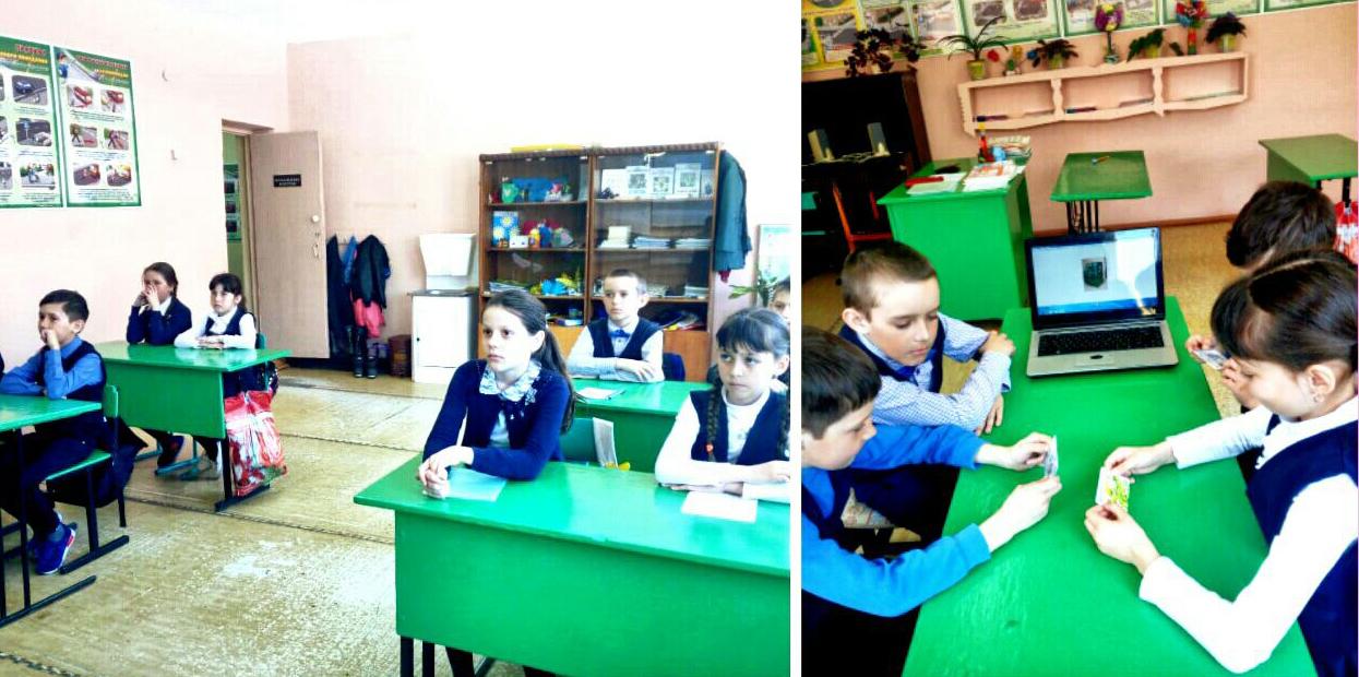 Учились считать по-взрослому в Ташкирменской школе