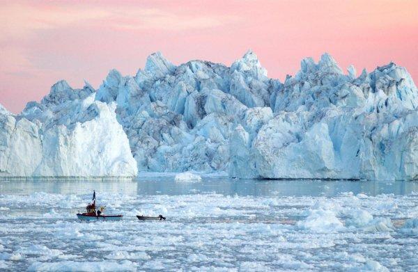 Ледники Гренландии открыли древнюю историю человечества