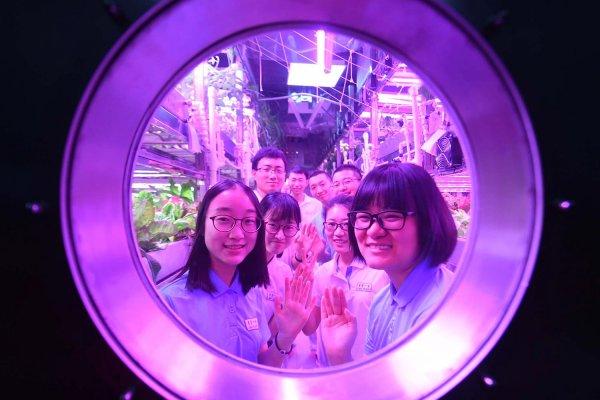 Китай 370 дней подряд имитировал пребывание людей на Луне
