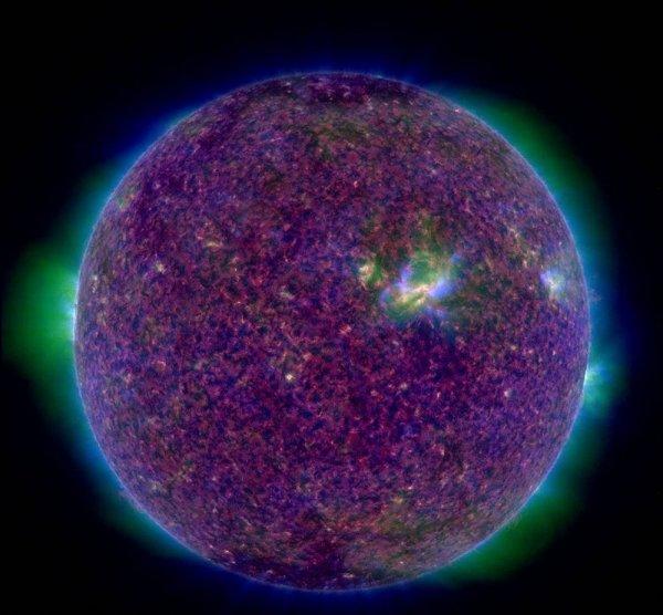 Ультрафиолетовая красота: NASA опубликовало новое изображение Солнца