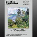 Обложку Bloomberg Businessweek украсила нарисованная ИИ картина