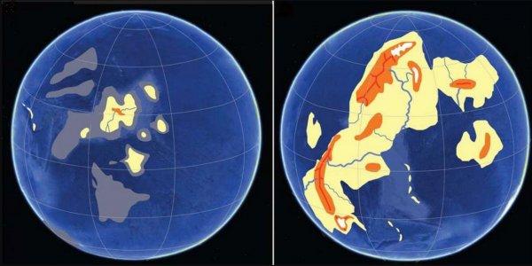 Учёные назвали период появления первого снега на Земле