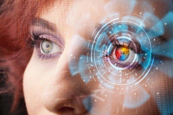 Периферийное зрение позволило распознать положительные эмоции на лице