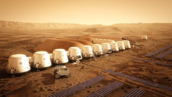 Студенты из Томска создали проект первой человеческой колонии на Марсе