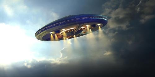 Очевидец рассказал о встрече с НЛО в ночном небе