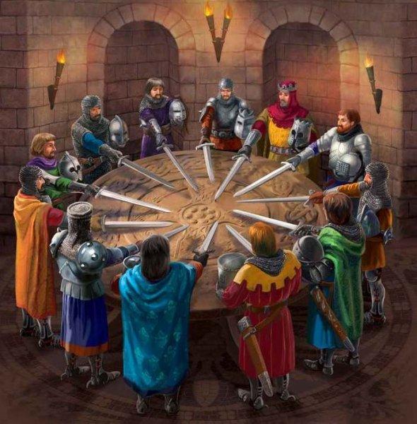Историки разобрались, кто сидел за столом короля Артура
